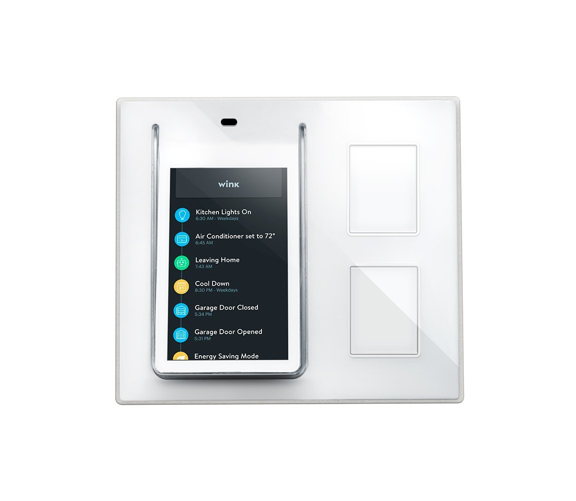 Wink Relay Smart Home Wall Controller For Connected Homes