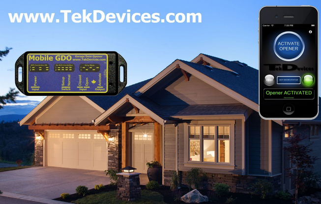 Tekdevices Mobile Gdo Wifi Garage Door Opener Connected Crib