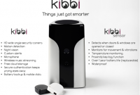 Kibbi Home Security Solution + Sensors