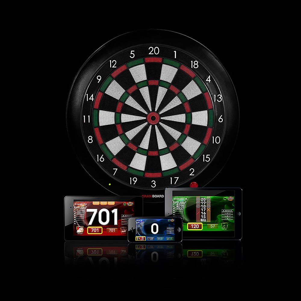 Gran Board Bluetooth Dart Board Connected Crib