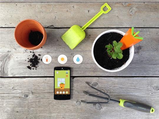 Gr 252 T Smart Gardening Kit For Kids Connected Crib
