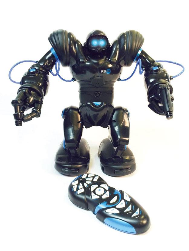Coolest Robot Toys : Robosapien bluetooth robot connected crib