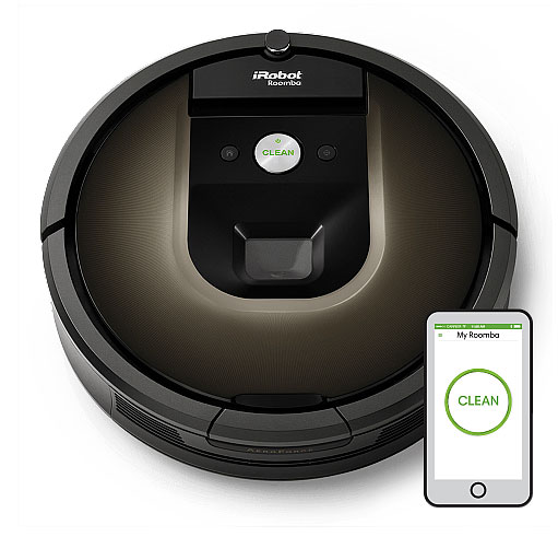 Irobot Roomba 980 App Enabled Robot Vacuum Connected Crib