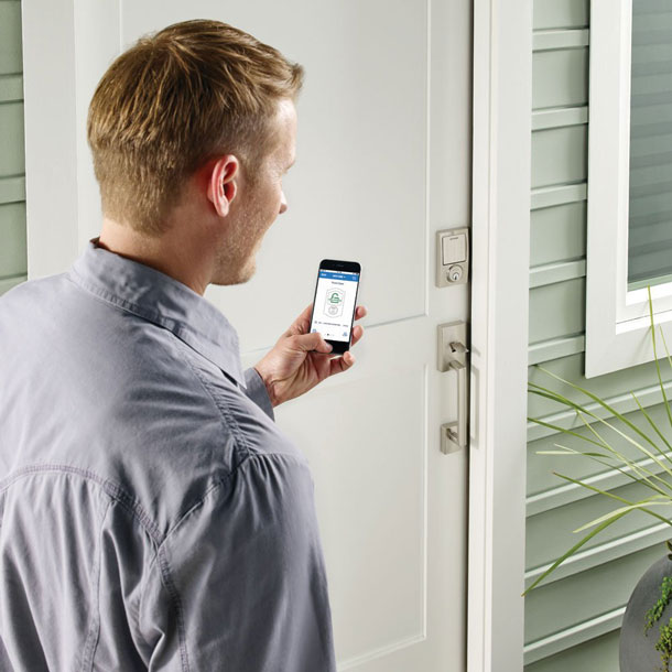 Schlage Sense Smart Deadbolt W Homekit Connected Crib