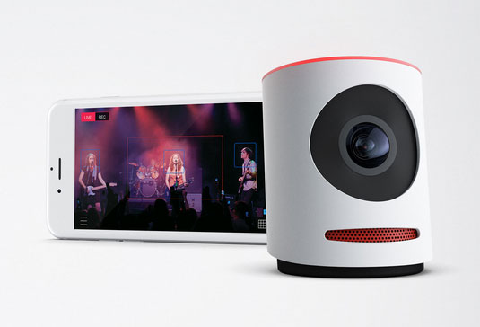 Movi Smart Live Event Camera Connected Crib