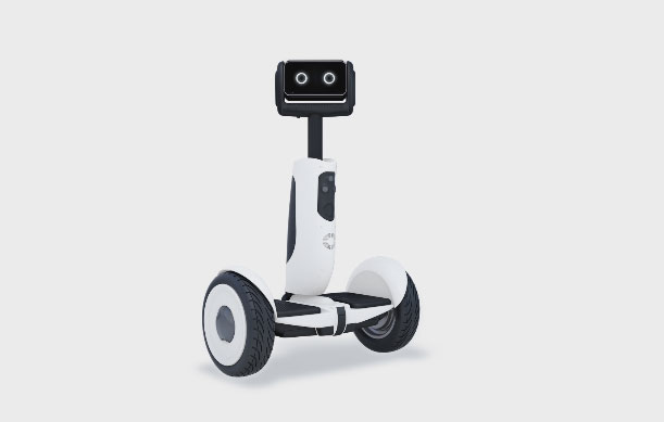 Segway Robot Transporter For Smart Homes Connected Crib