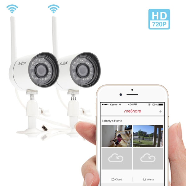 Funlux-Outdoor-720P-HD-Smart-Camera