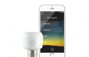 Wavie Gesture Controllable Light Dimmer Connected Crib