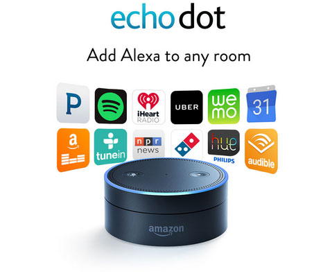 echo dot alexa for smart homes connected crib. Black Bedroom Furniture Sets. Home Design Ideas