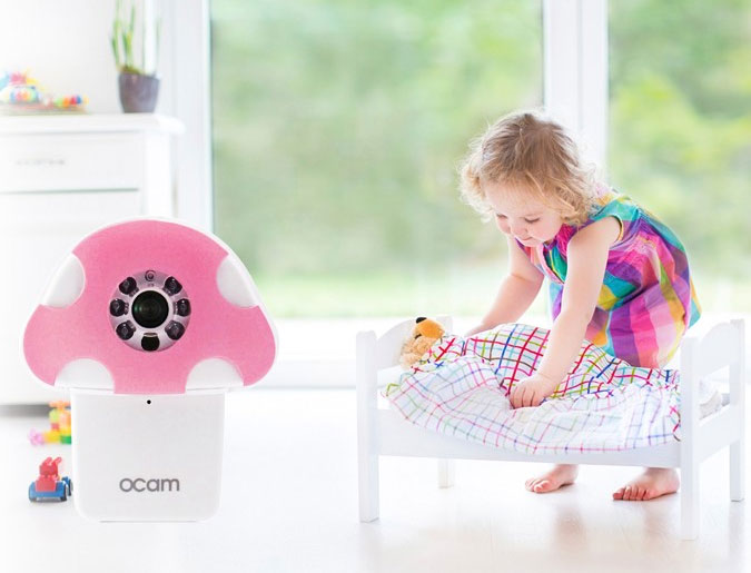 Ocam M1 Wifi Baby Camera Connected Crib