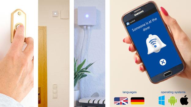 Mydbell Smart Doorbell Connected Crib
