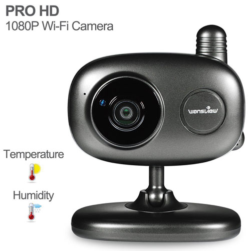 Wansview Prohd 1080p Wifi Camera Connected Crib