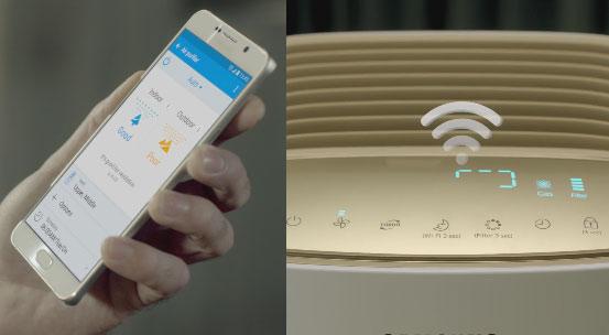 Samsung Wifi Enabled Air Purifier Ax7500 Connected Crib