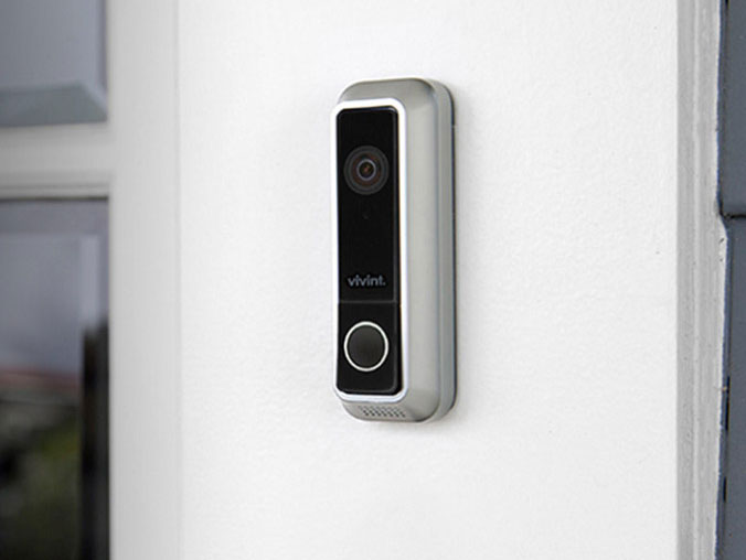 Vivint Doorbell Camera With Visitor Detection Connected Crib