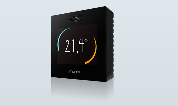 Momit Smart Thermostat With Wifi Amp App Control Connected