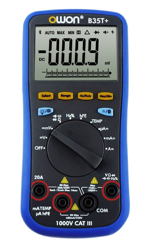 OWON-B35T+-Multimeter-with-Bluetooth