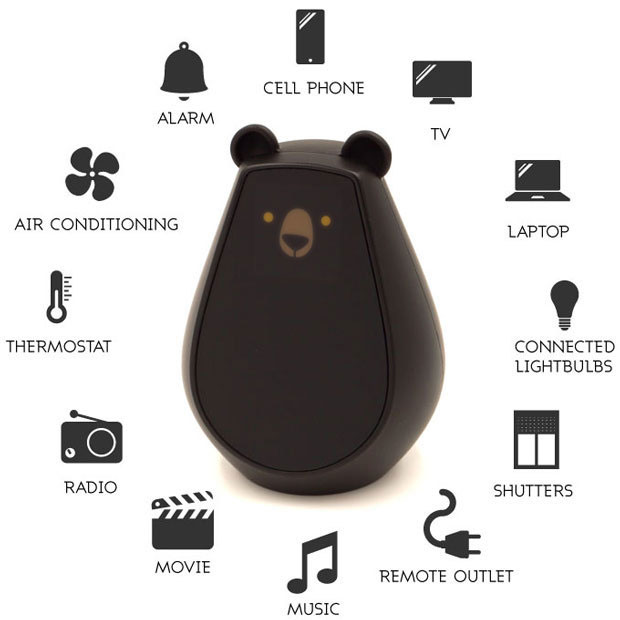 Bearbot Controls Your Smart Home Devices