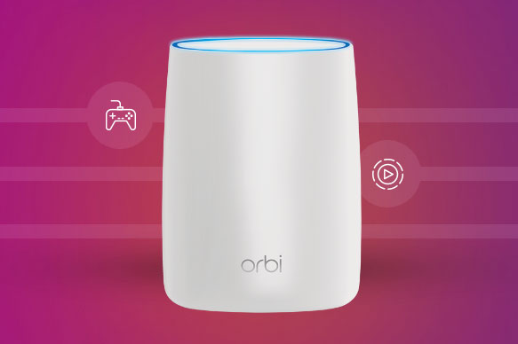 Orbi World S First Tri Band Wifi System Connected Crib