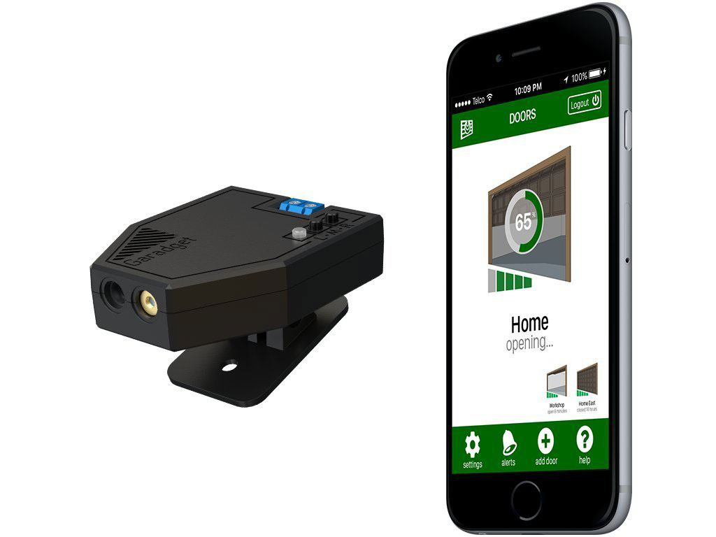 myq trigger work instructions z did liftmaster connecting workaround the garage installation to simply inputs wave on as garageio door t my per opener and not