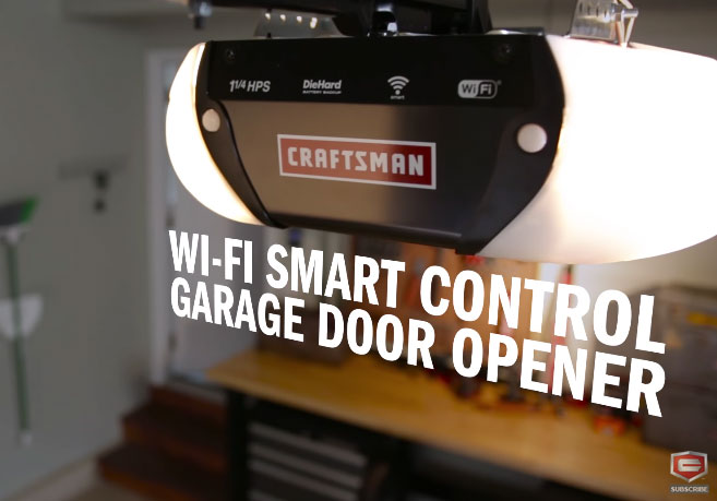 Craftsman Smart Garage Door Opener With Wifi Connected Crib