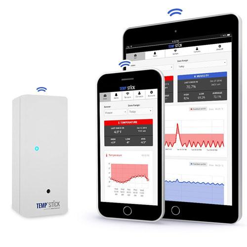 Temp stick smart wireless temperature sensor connected crib - Thermometre connecte wifi ...