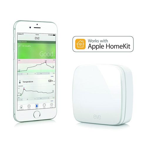 Elgato Eve Room Indoor Air Sensor With HomeKit
