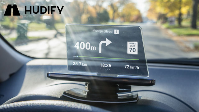 Hudify Transparent Gps For Your Car Connected Crib