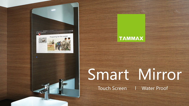 Tammax Smart Touchscreen Mirror With Android Tv