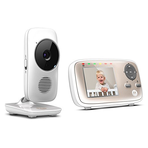 motorola mbp667 baby monitor with wifi connected crib. Black Bedroom Furniture Sets. Home Design Ideas