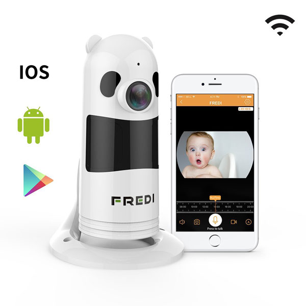 Fredi Baby Monitor Surveillance Camera Connected Crib
