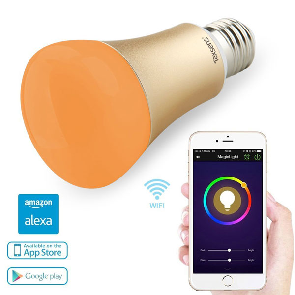 Texsens Smart Led Light Bulb Works With Alexa Connected Crib