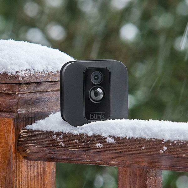 Blink Xt Indoor Outdoor Security Camera Connected Crib