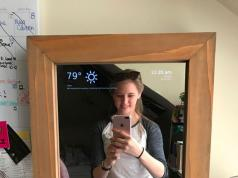 Diy Build A Smart Mirror With Raspberry Pi 3 Connected Crib