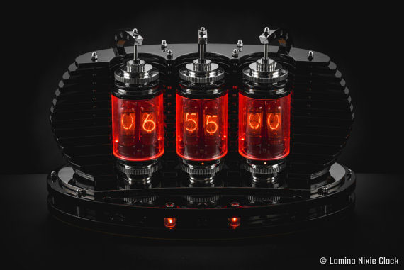 Lamina Wifi Enabled Nixie Clock Connected Crib