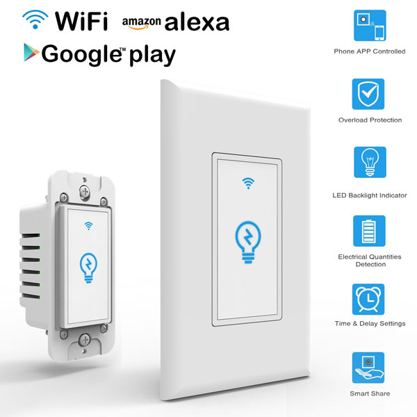 Arvin Light Switch Works With Alexa Connected Crib