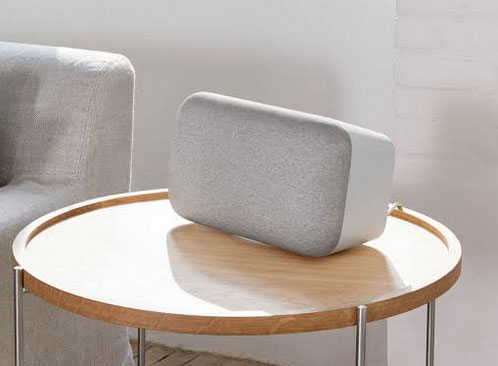 Google Home Max Smart Speaker Connected Crib