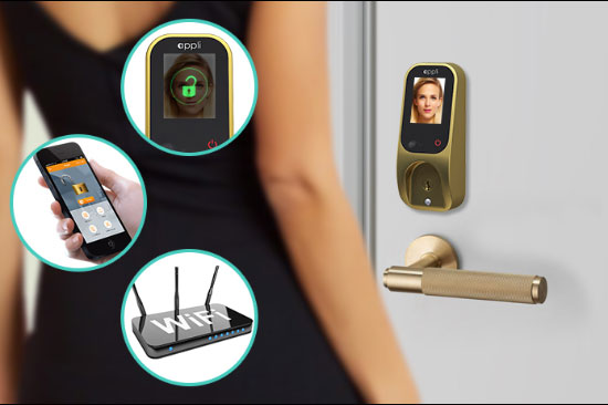 Appli Unlock Doors With Your Face Connected Crib