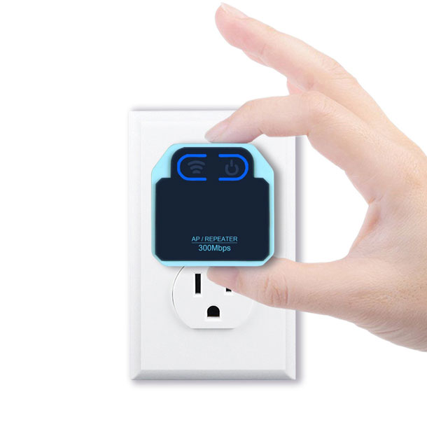Infeling Wall Plug Wifi Signal Booster Connected Crib