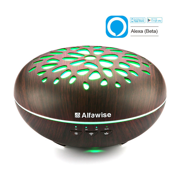 Alfawise Oil Diffuser With Alexa Connected Crib