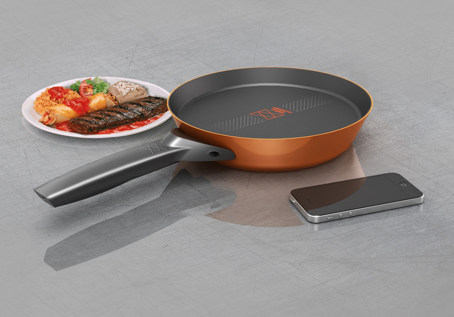 smart cooking pan