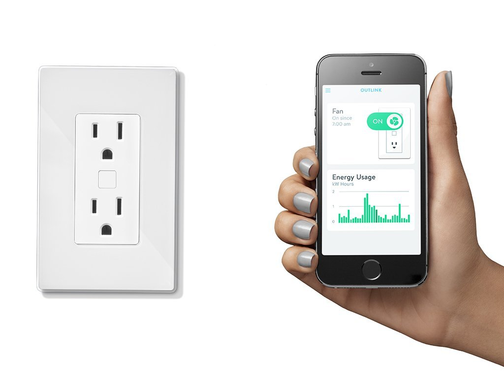 Quirky Outlink Smart Remote Outlet Connected Crib
