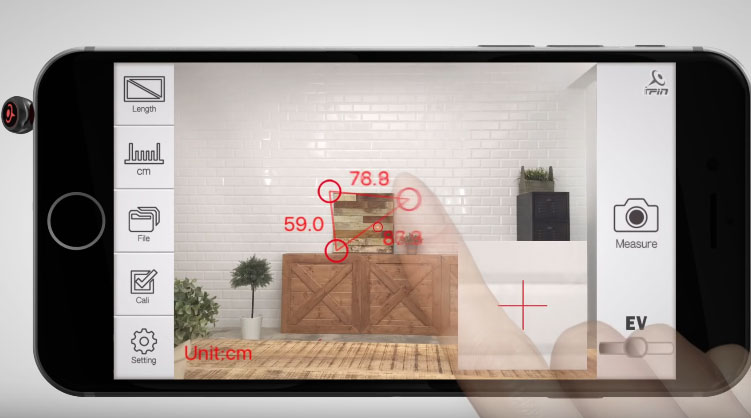 Ipin Spatial Ruler Turns Your Iphone Into A Smart Ruler