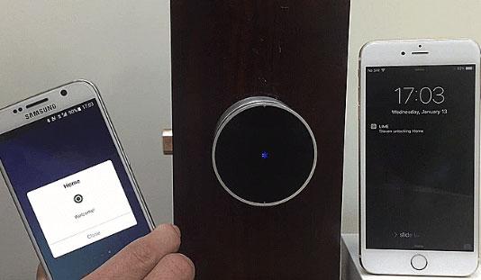 LIME Smart Lock w/ Bluetooth/NFC/RFID - Connected Crib