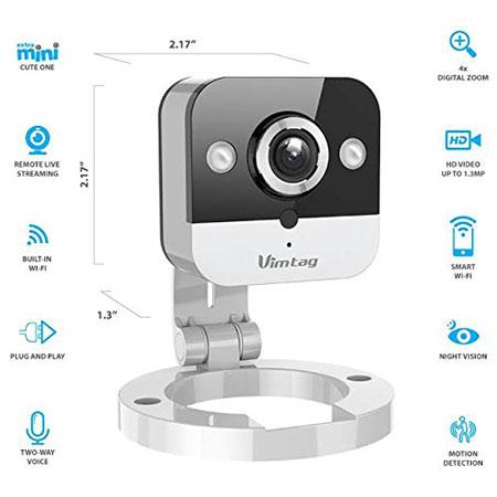 Vimtag-M1-Mini-Cube-Security-Camera