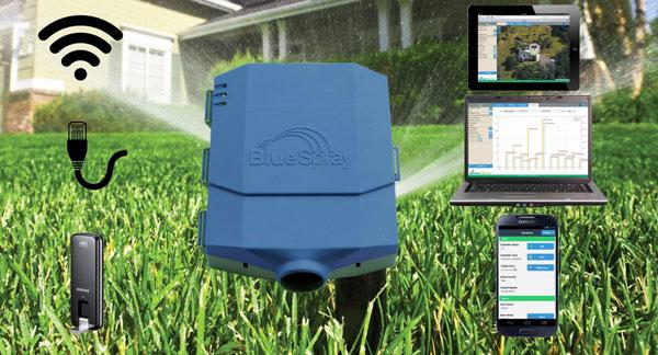 BlueSpray-Smart-WiFi-Sprinkler-Controller