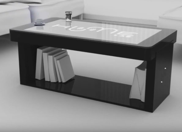 Tabata Smart Coffee Touch Table Connected Crib