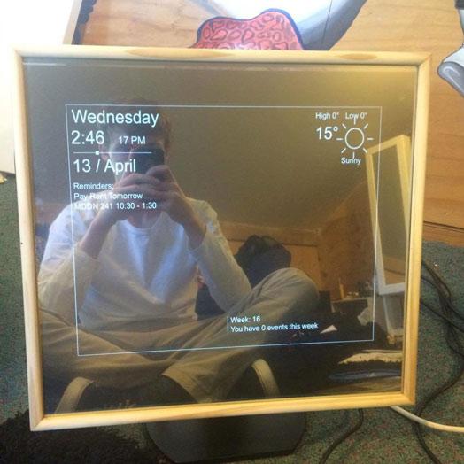 $100-Smart-Mirror-Pi