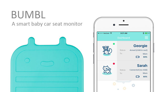 bumbl-smart-car-seat-monitor