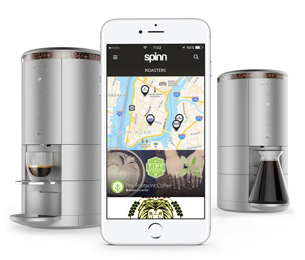 Spinn Wifi Connected Coffeemaker With Alexa Support
