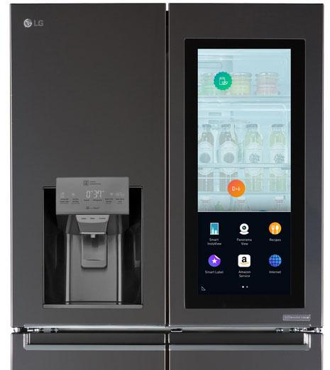 LG Smart InstaView Refrigerator with Amazon Alexa